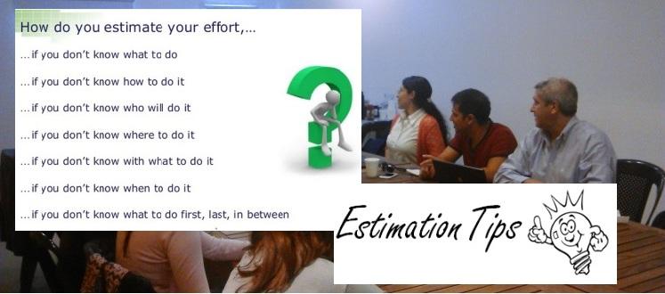 3er Encuentro de Testers Estimation