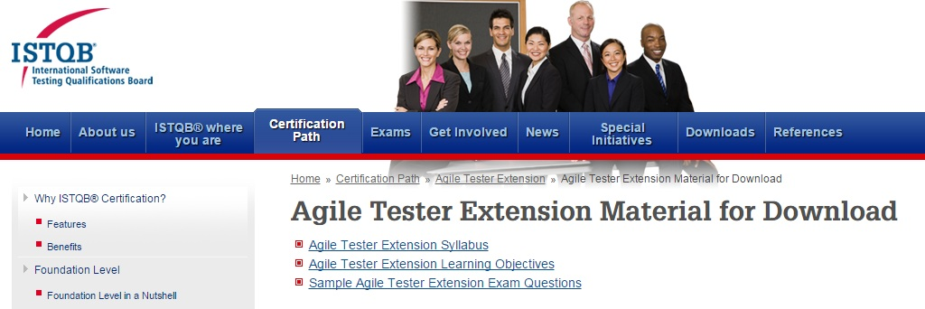 ISTQB Agile Tester Material for Download