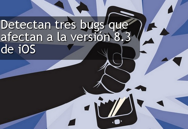 bug ios version 83
