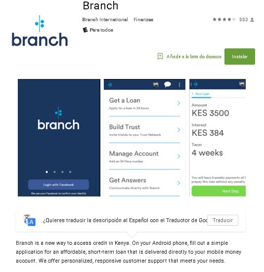 branch movile testing