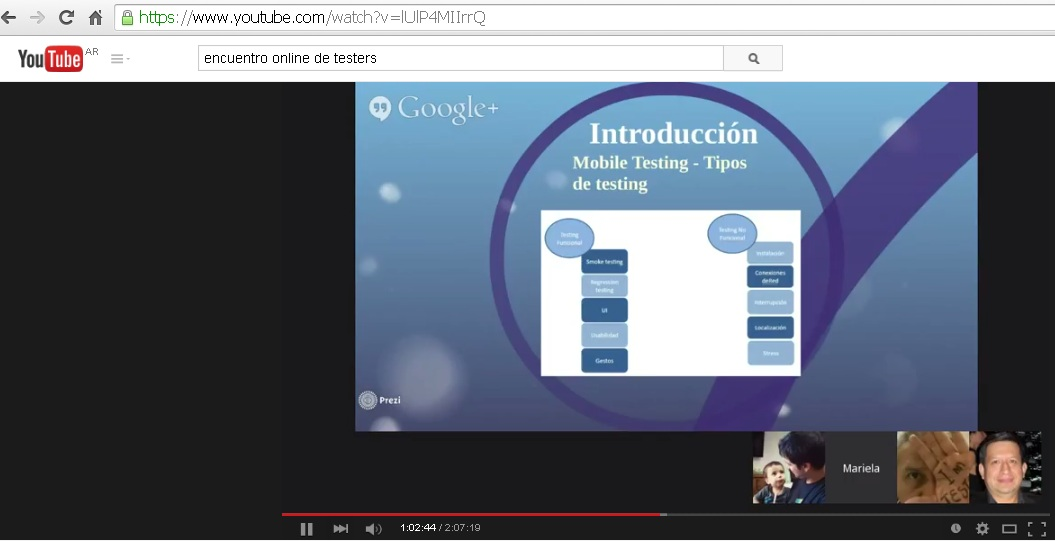 Encuentro Online de Testers - Mobile Testing