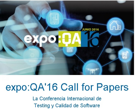 expo QA 16 call for papers