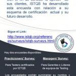 Encuesta ISTQB