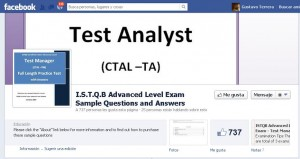 ISTQB Advanced Level Facebook