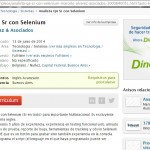 Busqueda Laboral Analista QA Sr con Selenium_13jun14