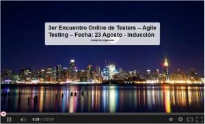 3er encuentro online de testers
