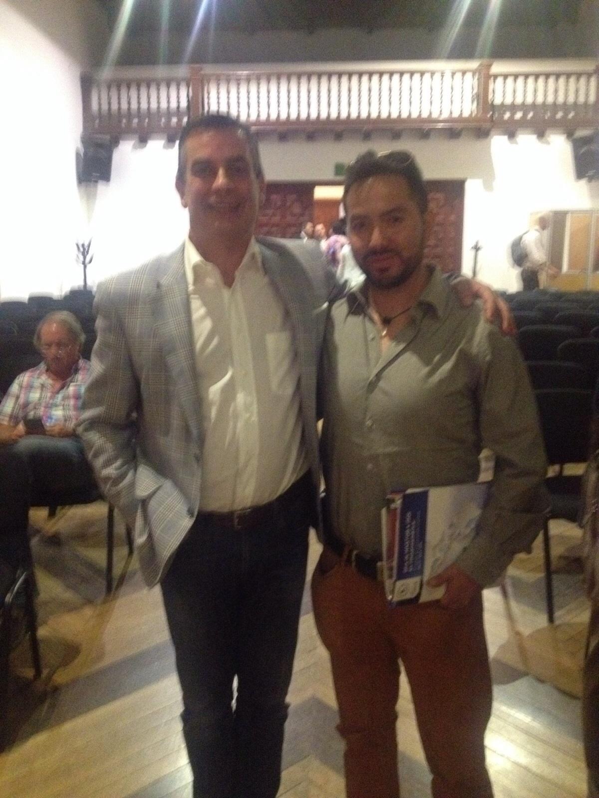 Jose Díaz y Ruben Aguirre
