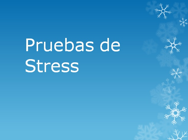 Pruebas de estres