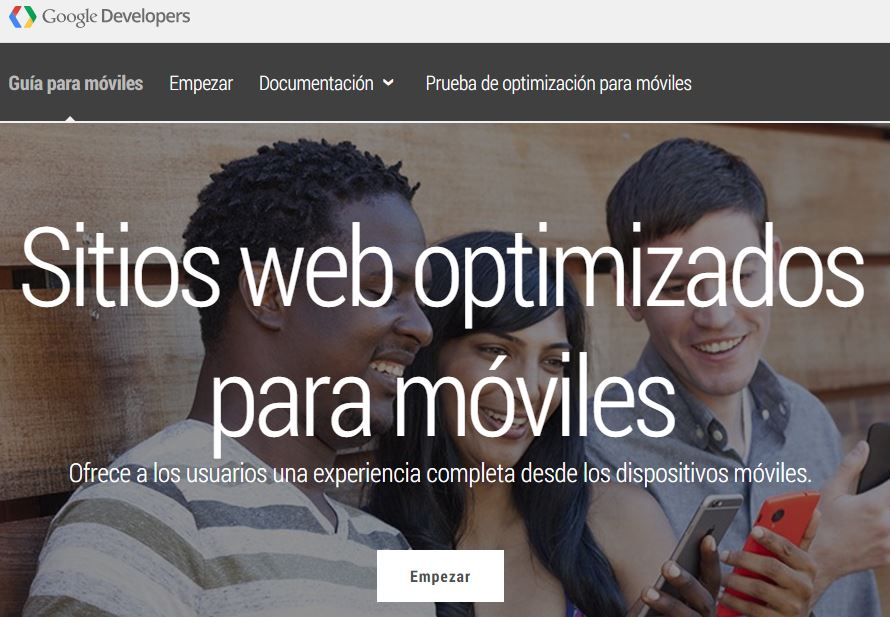 sitios web optimizados