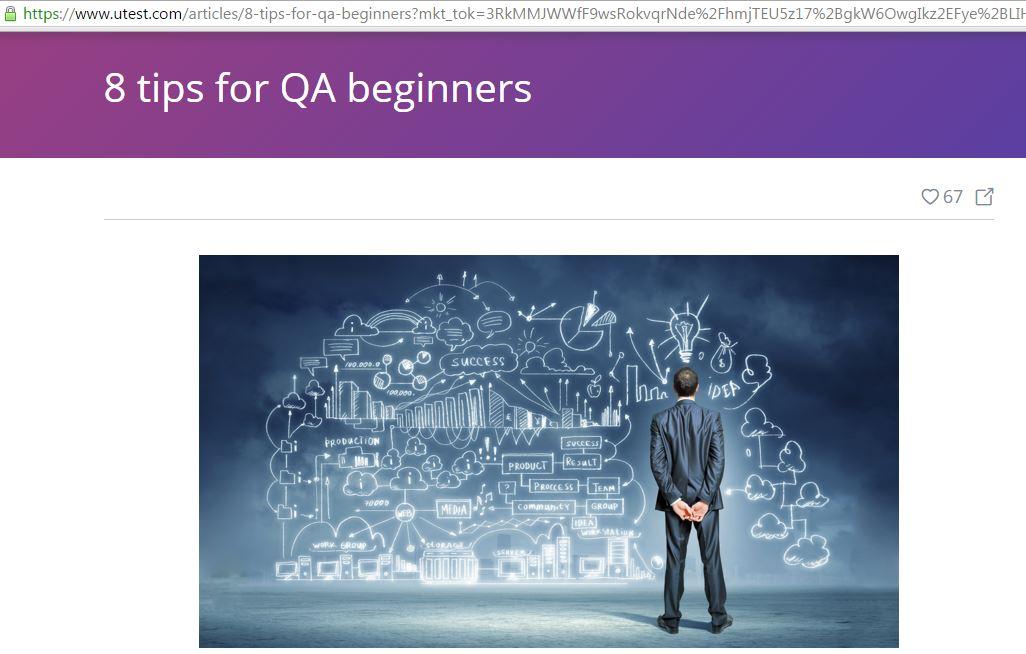 8tips for QA beginners_utest