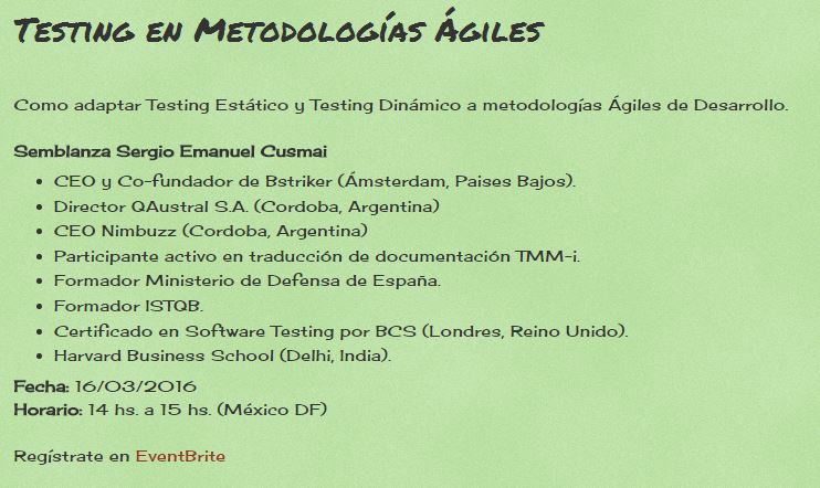 testing en metodologias agiles