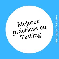 mejores practicas en testing