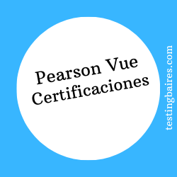 pearson vue certificaciones