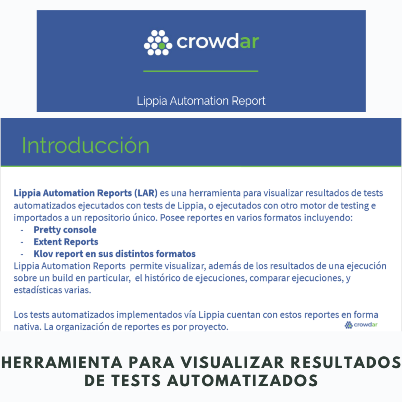 Lippia Automation Reports