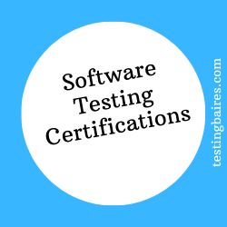 testing certifications