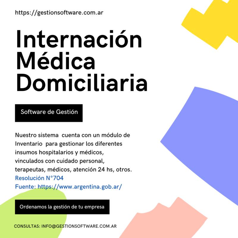 Internación Domiciliaria