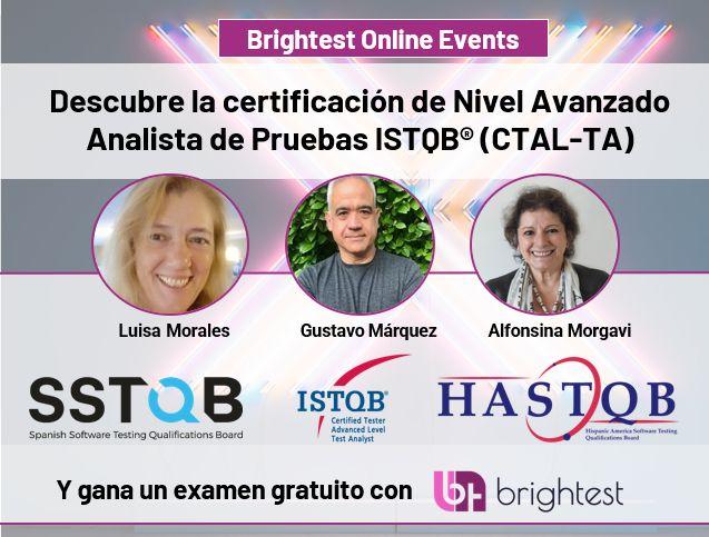 Descubre la certificación de nivel Avanzado Analista de Pruebas ISTQB (CTAL-TA)