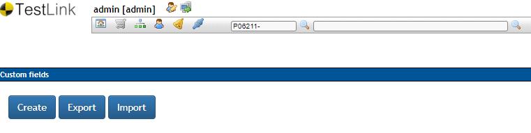TestLink Define Custom Fields